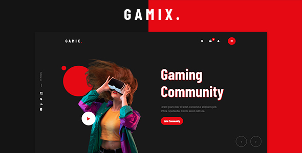 [Free Download] Gamix – eSports & Gaming HTML5 Template (Nulled) [Latest Version]