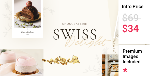 [Free Download] Swiss Delight – Chocolate & Cake Shop Theme (Nulled) [Latest Version]