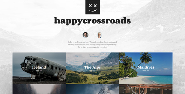 [Free Download] HappyCrossroads – A home for your travel stories (Nulled) [Latest Version]