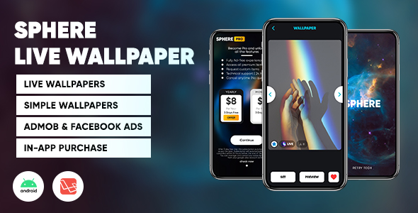 [Free Download] Sphere : Live Video Wallpaper | Wallpaper app with admin panel | Android – Laravel (Nulled) [Latest Version]