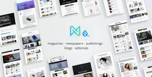 [Free Download] Newspaper – Optimized Drupal 9 RTL Magazine theme (Nulled) [Latest Version]