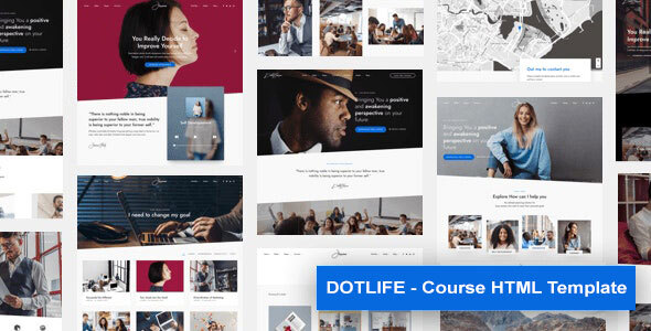 [Free Download] DotLife | Course HTML Template (Nulled) [Latest Version]
