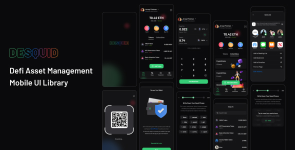 [Free Download] DeSquid Mobile Crypto Wallet (Nulled) [Latest Version]