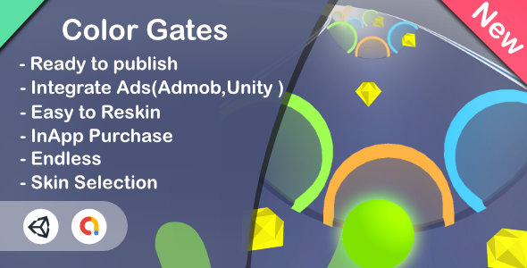 [Free Download] Color Gates 3D(Unity Game+Admob+iOS+Android) (Nulled) [Latest Version]