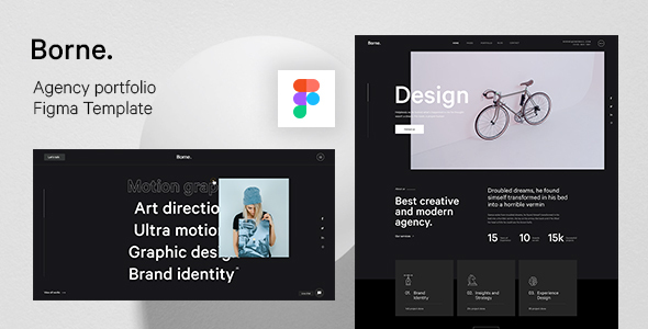 [Free Download] Borne – Agency portfolio Figma Template (Nulled) [Latest Version]