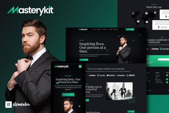[Free Download] MasteryKit – Business Coach Elementor Template Kit (Nulled) [Latest Version]