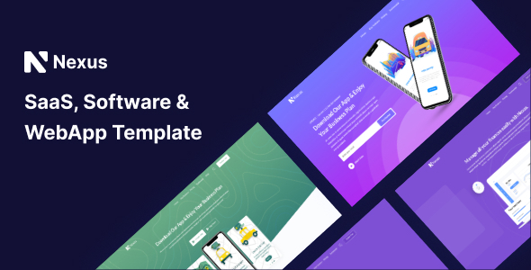 [Free Download] Nexas – Saas & Software Landing Page Template (Nulled) [Latest Version]
