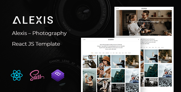 [Free Download] Alexis – Photography React JS Template (Nulled) [Latest Version]