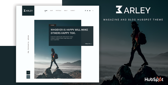 [Free Download] Barley – Blog and Magazine HubSpot Theme (Nulled) [Latest Version]