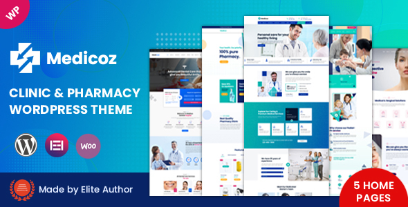 [Free Download] Medicoz – Clinic & Pharmacy WordPress Theme (Nulled) [Latest Version]