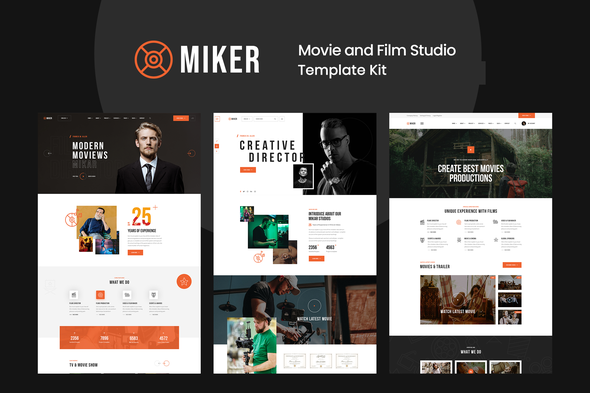 [Free Download] Miker – Movie & Film Studio Elementor Template Kit (Nulled) [Latest Version]