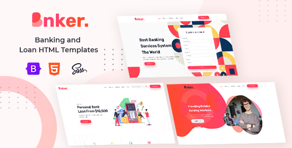 [Free Download] Bnker. – Banking and Loan HTML Templates + RTL (Nulled) [Latest Version]