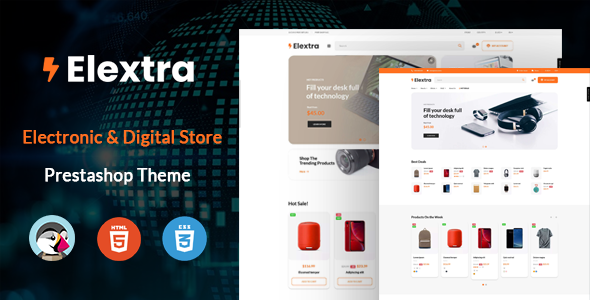 [Free Download] Elextron – Multipurpose Prestashop Electronics Theme (Nulled) [Latest Version]
