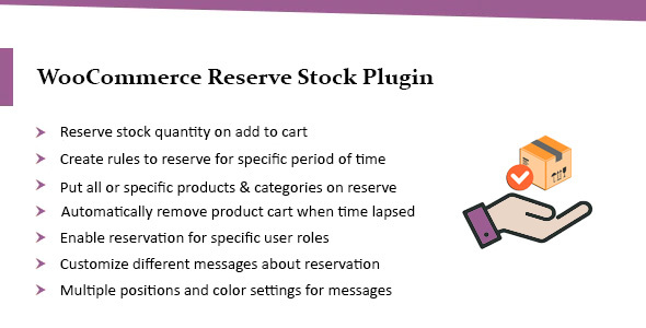 [Free Download] WooCommerce Reserve Stock: Reserve Quantity on Add to Cart (Nulled) [Latest Version]