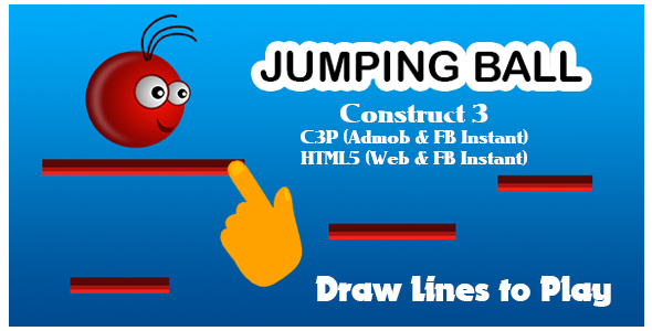 [Free Download] Jumping Ball Game (Construct 3   C3P   HTML5) Admob and FB Instant Ready (Nulled) [Latest Version]