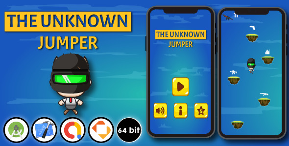 [Free Download] The Unknown Jumper – Android & Xcode & Buildbox Game Template (Nulled) [Latest Version]