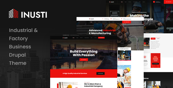 [Free Download] Inusti – Industrial & Factory Business Drupal 9 Theme (Nulled) [Latest Version]