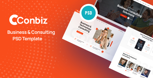 [Free Download] Conbiz – Consultancy & Business PSD Template (Nulled) [Latest Version]
