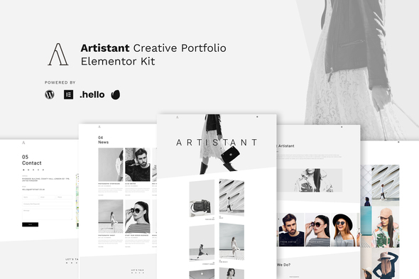 [Free Download] Artistant – Creative Photography Portfolio Elementor Template Kit (Nulled) [Latest Version]