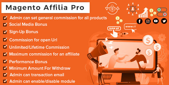 [Free Download] Affilia – Affiliate & Referral Program for Magento (Nulled) [Latest Version]