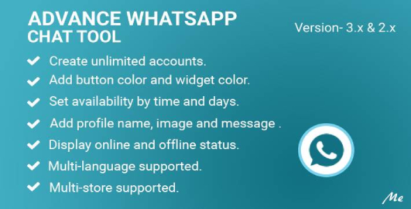 [Free Download] Advance Whatsapp Chat Tool (Nulled) [Latest Version]