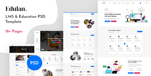 [Free Download] Eduba – LMS & Education PSD Template (Nulled) [Latest Version]