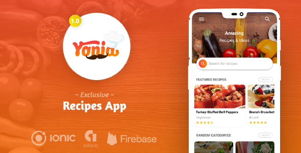 [Free Download] Yonia – Ultimate Ionic Recipes App + Admin Panel (Nulled) [Latest Version]