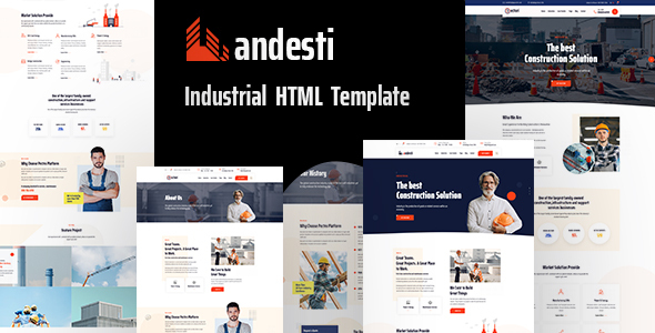 [Free Download] Andesti  – Industrial HTML Template (Nulled) [Latest Version]