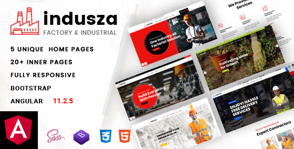 [Free Download] Indusza – Industrial & Factory Angular Template (Nulled) [Latest Version]