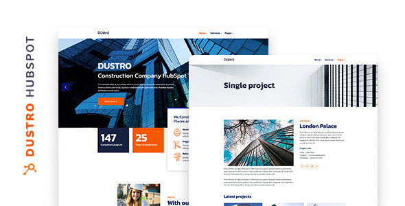 [Free Download] Dustro – Construction Company HubSpot Theme (Nulled) [Latest Version]