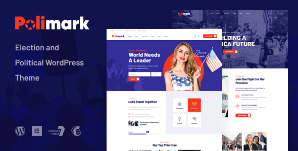 [Free Download] Polimark – Election & Political WordPress Theme (Nulled) [Latest Version]