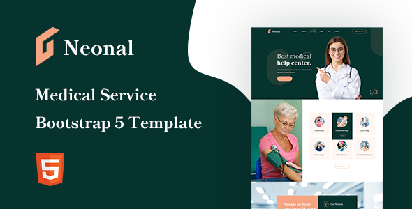 [Free Download] Neonal – Medical Service Bootstrap 5 Template (Nulled) [Latest Version]