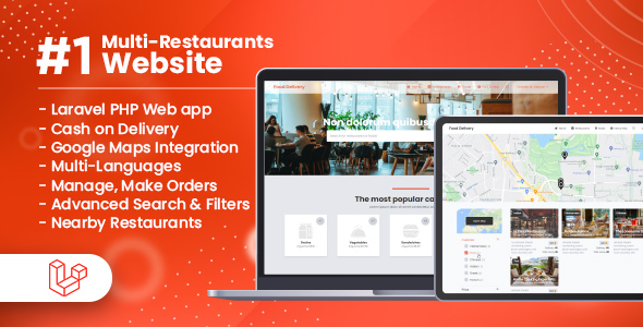 [Free Download] Customer Website For Multi-Restaurants Laravel App (Nulled) [Latest Version]