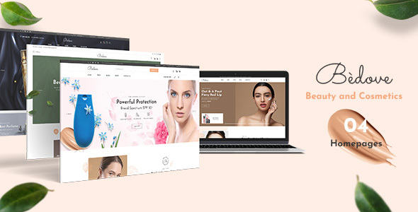 [Free Download] Bedove – Beauty & Cosmetics Shop WordPress Theme (Nulled) [Latest Version]