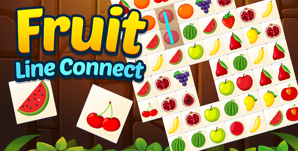 [Free Download] Fruit Line Connect + Top Puzzle Game + Ready For Publish (Android + IOS) (Nulled) [Latest Version]