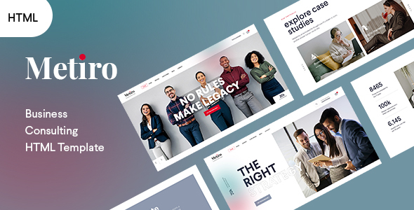 [Free Download] Metiro – Business Consulting Bootstrap5 Template (Nulled) [Latest Version]