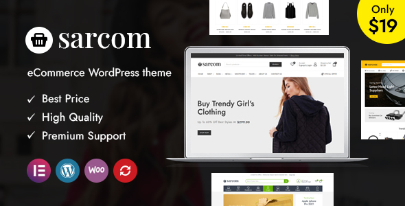 [Free Download] Sarcom – Fashion WooCommerce Theme (Nulled) [Latest Version]