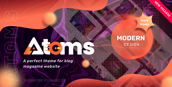 [Free Download] Atoms – WordPress Magazine and Blog Theme (Nulled) [Latest Version]
