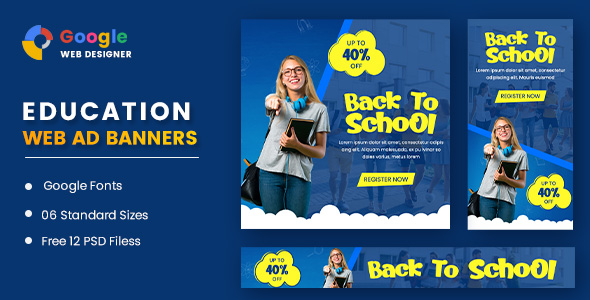[Free Download] Education Banners Google Web Designer (Nulled) [Latest Version]