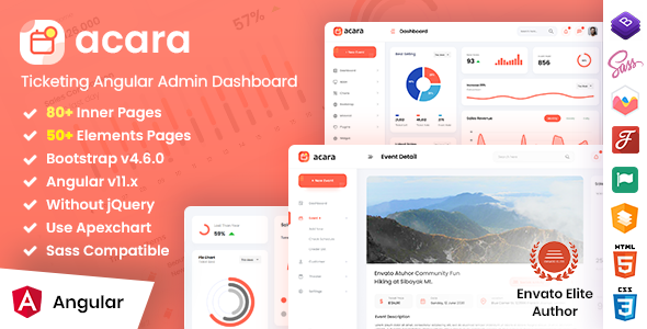 [Free Download] Acara – Ticketing Angular Admin Dashboard (Nulled) [Latest Version]