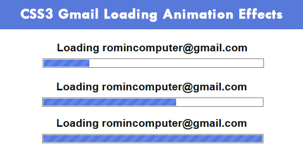 [Free Download] CSS3 Gmail Loading Animation Effects (Nulled) [Latest Version]