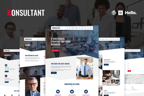 [Free Download] Konsultant – Consultancy Firm Elementor Template Kit (Nulled) [Latest Version]
