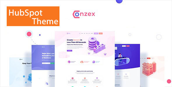 [Free Download] Conzex – Cloud, Saas & Startup HubSpot Theme (Nulled) [Latest Version]
