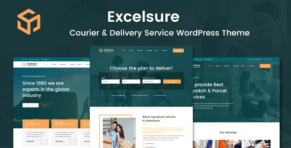 [Free Download] Excelsure – Courier Delivery WordPress Theme (Nulled) [Latest Version]