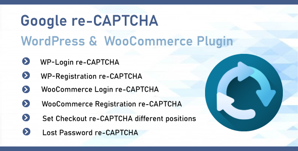 [Free Download] Google reCAPTCHA For WordPress & WooCommerce (Nulled) [Latest Version]