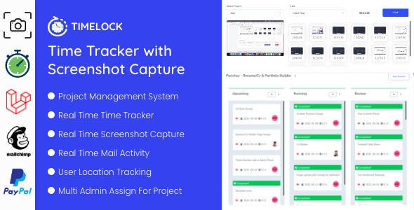 [Free Download] Timelock – Project Management System With Screenshot Capture (Nulled) [Latest Version]