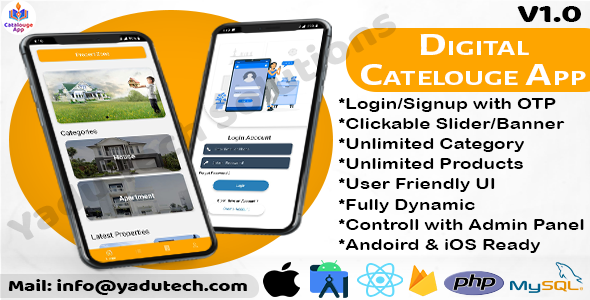 [Free Download] Multipurpose Digital Catalogue Android & iOS App with Website and Admin Panel (Nulled) [Latest Version]