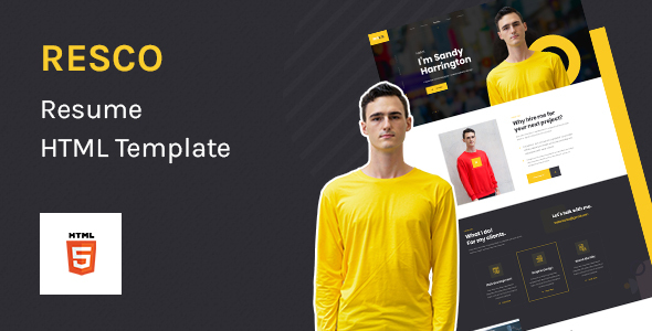 [Free Download] Resco – Resume HTML5 Template (Nulled) [Latest Version]