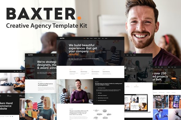 [Free Download] Baxter – Creative Agency Elementor Template Kit (Nulled) [Latest Version]