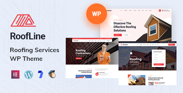[Free Download] RoofLine – Roofing Services WordPress Theme (Nulled) [Latest Version]